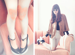 Sonia Eryka - Dropdead Legging, Staccato Shoes, Thrift Store Blazer, Riots Barbie Sunglasses - HOW TO BE A HEARTBREAKER.