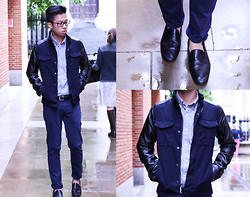 Billy Ho - Zara Jacket, Asos Loafers - Drops of London