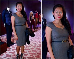 Kero P - H&M Tweed Dress - Uptown Moment
