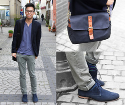 Billy Ho - Camera Bag, Aldo Shoes - A visit to Boppard, Germany