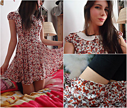Vicky Ath - Zara Dress - Flower dress