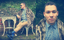 Phoenix Martinez - Tommy Hilfiger Shirt, Camden Stables Coat, Banana Republic Slim Fit Trousers - Furrrrrrrrrrrrrr?!