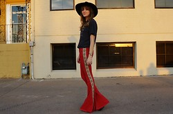 Niki Adams - Free People Hat, Wildfox Couture Shirt, One Teaspoon Pants - Count the Stars.