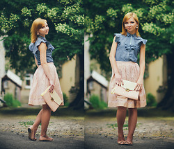 Svitlana L - Asos Skirt, Levi's® Shirt - WHEN YOU THINK ABOUT SUMMER...