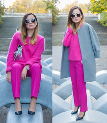 Kinga StyleOn - Basic Station, Zara, H&M Trend, Zara, Zara - Pink Flamingo