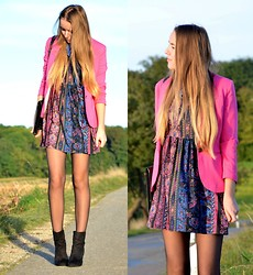 Jessica N. - Choies Dress, H&M Blazer - Pink is my colour