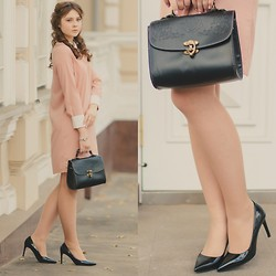 Helena Ivanova - Frontrowshop Dress, Persun Bag, Yves Saint Laurent Shoes - Romantic Autumn