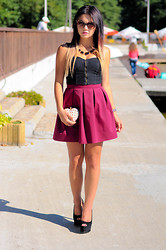 Amazing Fashioon - Skirt, Bag - Summer day