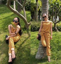 Maggy Hsu - Amanda L&H Jumpsuit, Chanel Bag, Cartier Watch - Fall In Love With The Fall