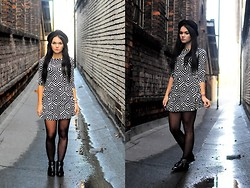 Amazing Fashioon - Dresses, Hat - Autumn look