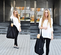 Kinga Jassowicz -  - ANIA KUCZYŃSKA SHANGHAI BAG + VANS AUTHENTIC