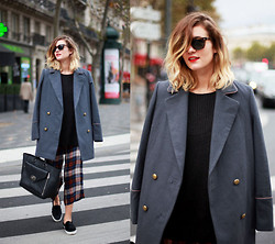 Adenorah M - La Redoute Coat, Zara Pants, Mulberry Bag - Adenorah - New Hair