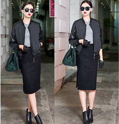 Ladykelly Wang - Mixmoss Jacket, Mixmoss Skirt - Long time no see