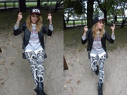 Anna Chorzelewska - H&M Leggings, Sinsay Jacket, New Look Sweatshirt - Tom Odell - Another Love (Zwette Edit)