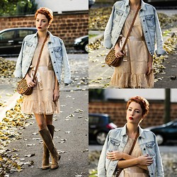 Wendy L - Rich & Royal Dress, Zara Boots - Autumn