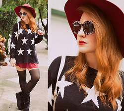 Talitah Sampaio - Chic Wish Sunnies, Chic Wish Sweater, Chic Wish Tights - And I wait starin' at the Northern Star