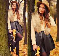 Zuza Str - Frontrowshop Hat - Romantic autumn