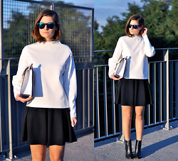 Aurelia K. - Zara Sweater  , River Island Skirt   - Shades of cold