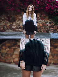Amy S - Ombre Jumper - Dipped