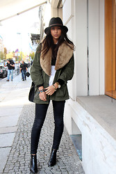 Kayla Seah -  - Army Green Jacket