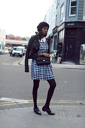 Natasha N - Sister Jane Dress, Chanel Bag, Topshop Leather Jacket, Asos Shoes - Back to school, not really