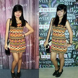 Chelsi Bernardino -  - Aztec dress for PhFW!