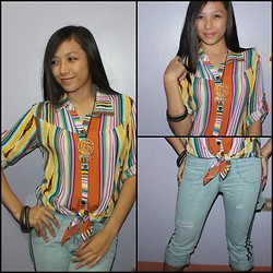 Makie Belmonte -  - Stripes in Boho inspired