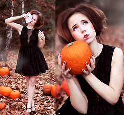 Wioletta Mary Kate - Dress, From My Garden Pumpkins - ♥ Queen Of Hearts ♥