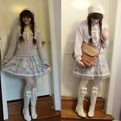Kattoo King - Forever 21 Hat, H&M Blouse, Alice And The Pirates Skirt, Bodyine Boots - Brainwashed