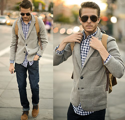 Adam Gallagher - Riess Sweater, Shirt, Similr Here  > Jeans - Remedy
