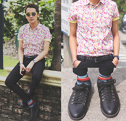 Nino Calimag - Sahara Shirt, Sm Accesories Belt, Wade Shoes - NEXT TOP MODEL? LOL