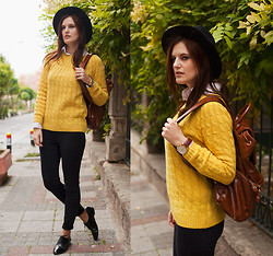 Viktoriya Sener - Banggood Sweater - YELLOW LIKE SUN