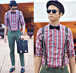 Gabriel Duarte - Nautica Shirt, Amp Green Pants, Gucci Shoes - I classy?