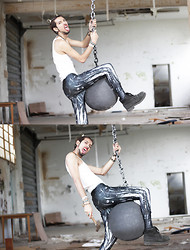 Bobby Raffin - Black Milk Clothing Mechanical Leggings, Diy Wrecking Ball - I came in like a Wrecking Ball