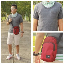 Ged Gumatay - Oxygen Button Down, Oxygen Knitted Shirt, Nike Body Bag, Jordan Sneakers - Halo-Halo-Ween