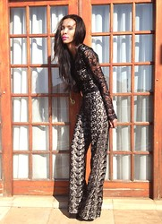 Toni Khumalo - Lace Jumpsuit - I Just Want U To Know Who I Am!