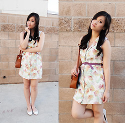 Wing Y. - Forever 21 Dress, Mark Leather Bag, Nine West Flats - LONGING FOR YESTERDAY