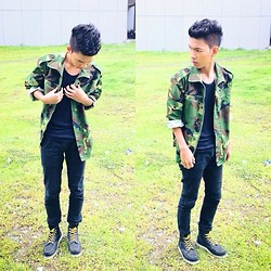 Jeront Villagomez -  - Camouflage for ya!