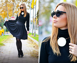 Kseniya Celikdelen - Mango Skirt, Wholesale Celebshades Sunglasses - BLACK LADY