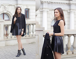 Nika H - Chic Wish Dress - All Black Everything