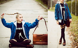 Gabriela Karbowska - Sheinside Jacket, Sheinside Dress, River Island Shoes - Liverty