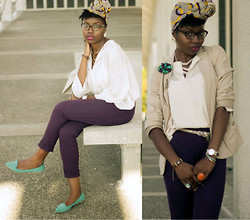 Stephanie Ukpere - H&M Pants - Naturally Naija