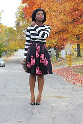 Alamode Wearhouse - Christian Louboutin Heels - Florals and Stripes