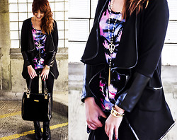 Wioletta M - Jacket, Dorothy Perkins Bag - Casual < Black<< fashion-utopia.com