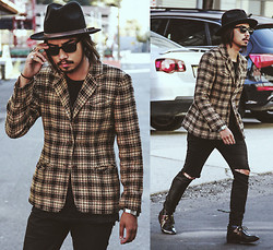 Denny Balmaceda - Cheap Monday Jeans, Forever 21 21men - FEAR AND LOATHING.
