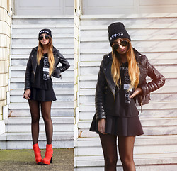 L A - High Heels Suicide Tank, High Heels Suicide Beanie - LITTLE RED BOOTS