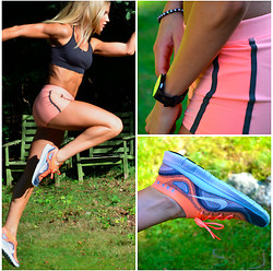 Malin Lagerqvist - Nike Shoes, Shorts, Sports Bra - Just Do It