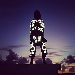 Junior S - Kokon To Zai Full Reflective Tattoo   Hoodie, Skirt And Pants - L A B & iD - KTZ Reflections...