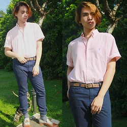 Glenn Torres - Ralph Lauren Button Down, Topman Leather Belt, Forever 21 Navy Chinos, Mr. Collection Tasseled Leather Wingtips - I can be your Ruler