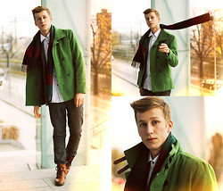 Adrian Kamiński - Jacket, Shoes & Pants - Autumn MenStyle